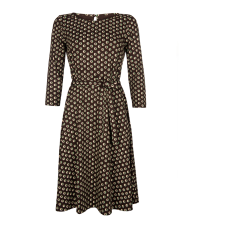 King Louie Betty Dress Cocoa