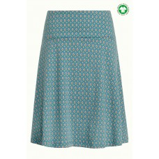 King Louie Circle Border Skirt Trapani