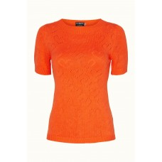 Margot bluse Orange Darling