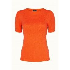 Margot bluse Orange Darling