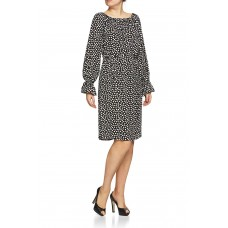 Rigmor Dress Black'n'White Dots