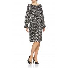 Rigmor kjole Black'n'White Dots