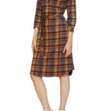 Annabell kjole Multi Checks