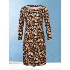 5db23bf2f95 du Milde kjole Almina Fantastico